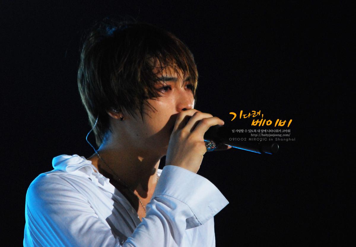 20091003 上海演唱會 - 在中的眼淚