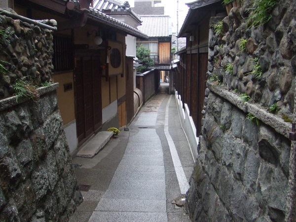 漂亮的京都小徑
