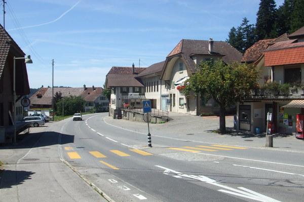 小鎮的街道