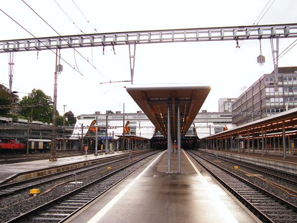 Bern 車站月台