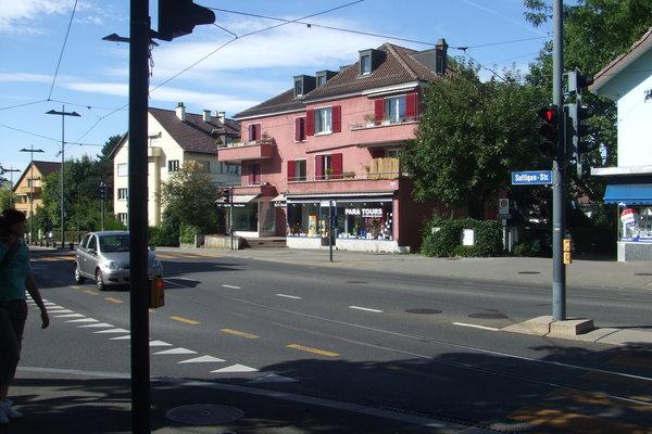 Bern 市區一角