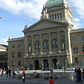 市政大廳前的噴水廣場