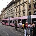 粉紅色的電車