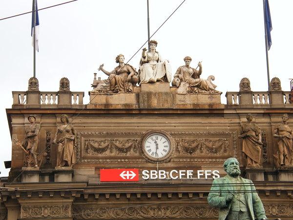 Zurich車站前