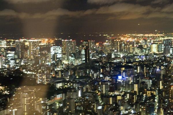 從展望台看出去的夜景