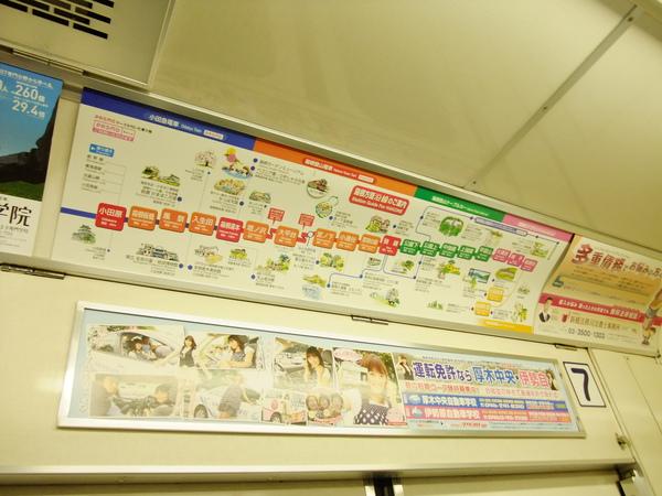 箱根登山電車圖