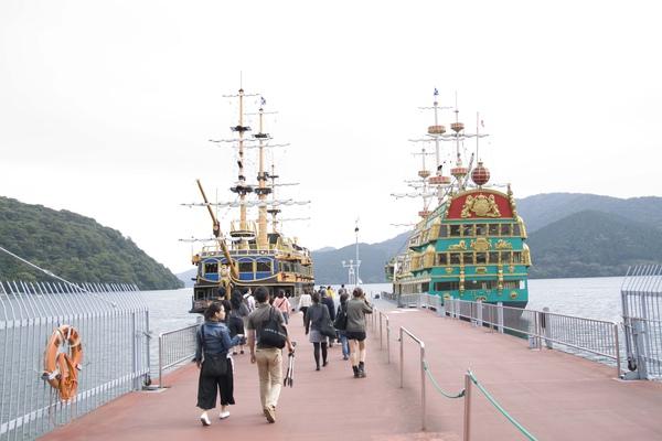 遊湖海盜船