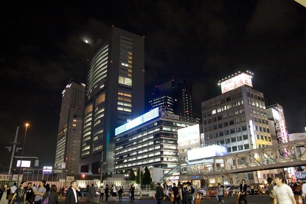 新宿的夜晚