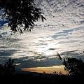 六巨石夕陽