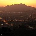 日落觀音山