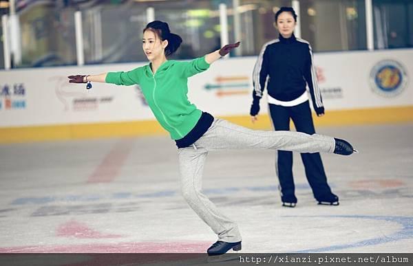 弦子密練溜冰一年 (5)