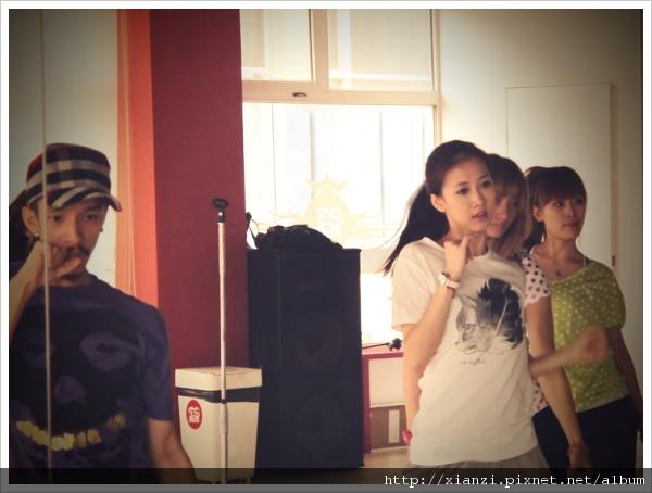 練舞中_與藍波老師認真排舞