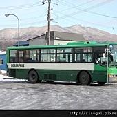 要離開登別啦! 我們決定嘗試搭搭看日本的公車