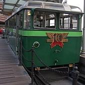已經退役的纜車