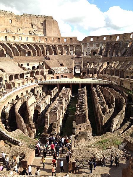 羅馬競技場內觀