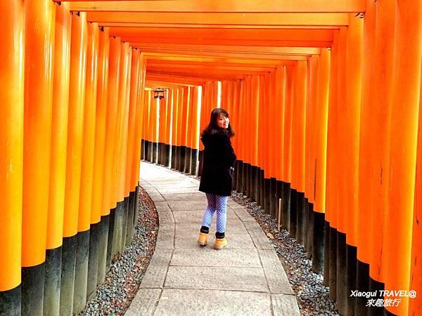 京都-伏見稻荷神社 千鳥居