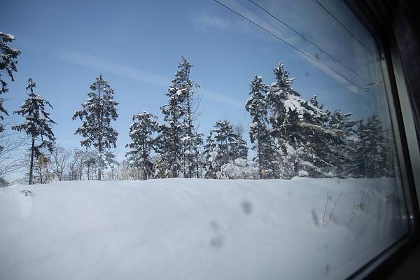 窗外風景,藍天出現了!!