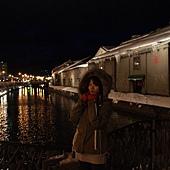 小樽散策-小樽運河 (約莫攝於四點二十八)