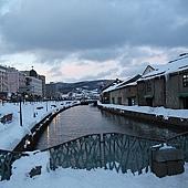 小樽散策-小樽運河 (約莫攝於三點四十)