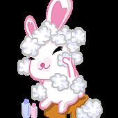孝順小兔洗澡椅