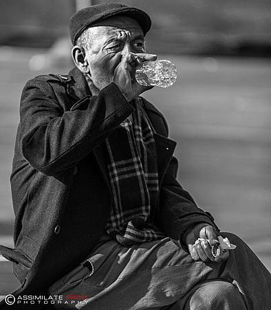 孤獨老人照