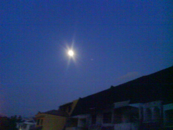 月亮来的!