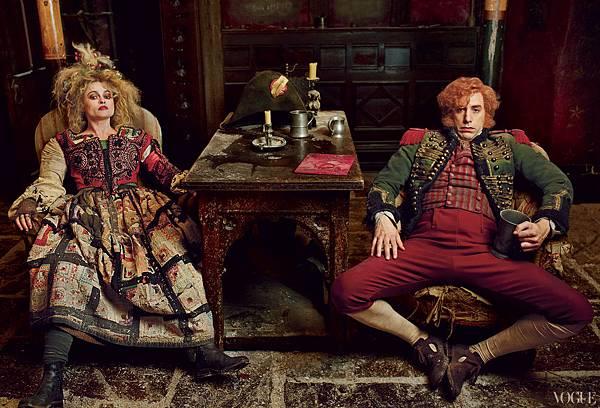 Les-Misérables-Helena-Bonham-Carter-and-Sacha-Baron-Cohen
