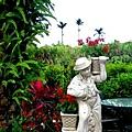 溫莎堡前的美麗花園.jpg