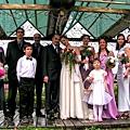 外國朋友在芯園嫁女兒