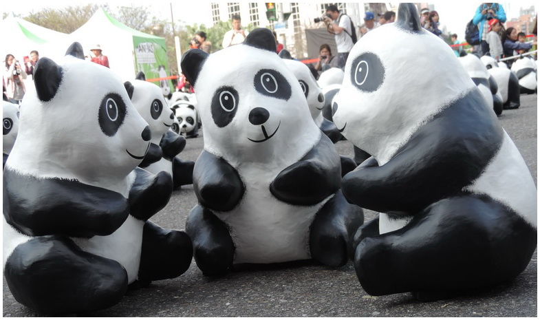 紙雕貓熊-0015