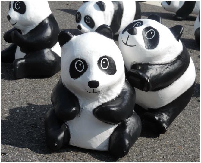紙雕貓熊-0023