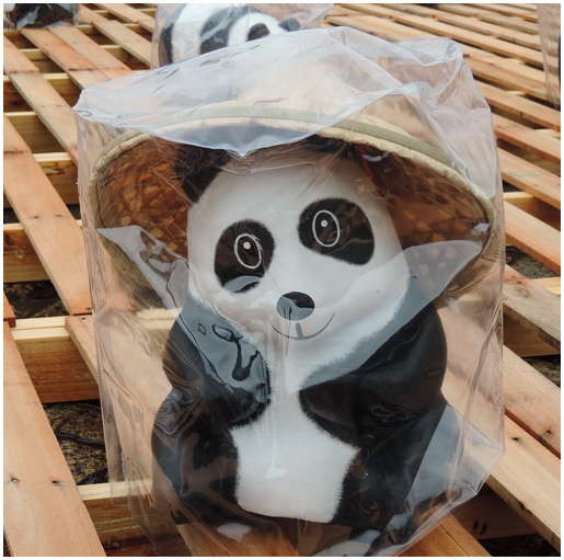 貓熊穿雨衣-0015