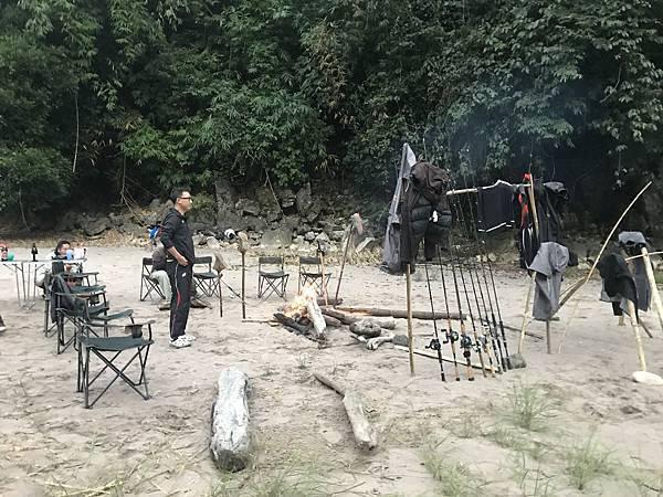 第二晚的营地