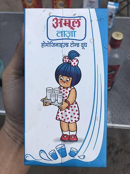 印度卖的牛奶