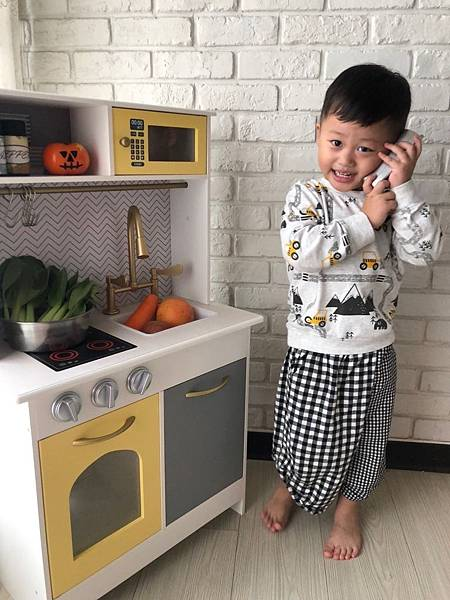 Teamson Kids 波士頓小主廚 木頭廚房玩具 扮家家酒