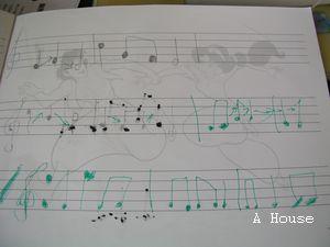 五線譜練習(5y3m)