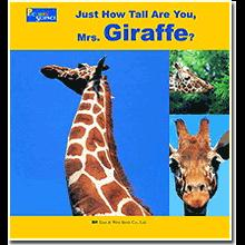 Just how tall are you, Mrs. Giraffe?