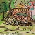 Cinderella House(媽媽和小玉米一起上色)