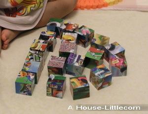 20塊立體六面拼圖之排列遊戲2