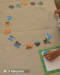 16片大象拼圖如此玩.....(3y1w)