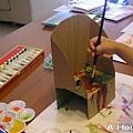 小玉米水彩畫(爸爸做的)椅子(3y2w)