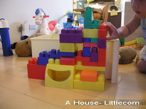 積木「房子」(3y3w)