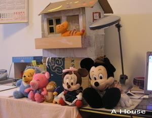 玩偶排排坐