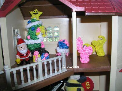 浴室和床(2011森林家族的聖誕家具)