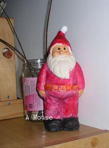 2011彩繪聖誕老公公