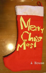2011自製聖誕襪(另一面)