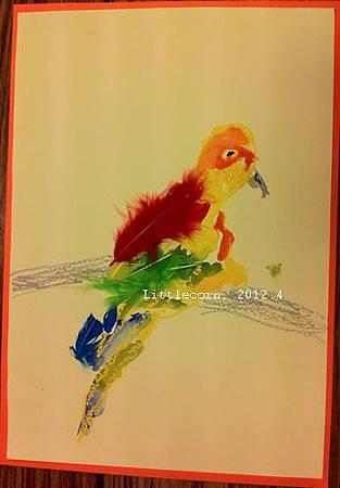 【畫室】「鸚鵡」