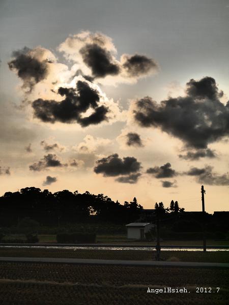 苗栗苑裡,GoGoWaterWorld旁(2012.7)