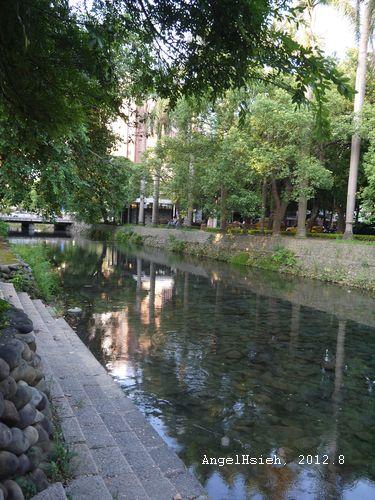 新竹護城河(2012.8)