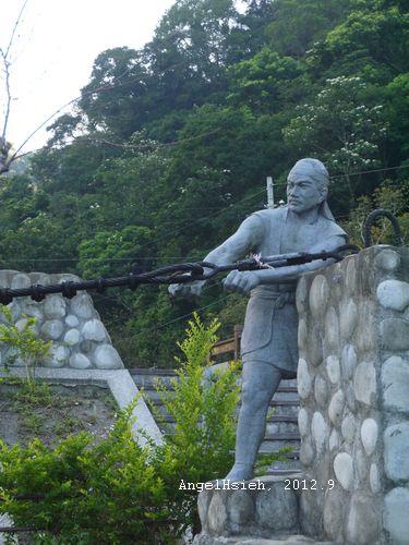 清泉吊橋(2012.9)